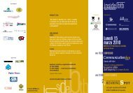 Lunedì 15 marzo 2010 - Associazione Italiana Pubblicitari ...