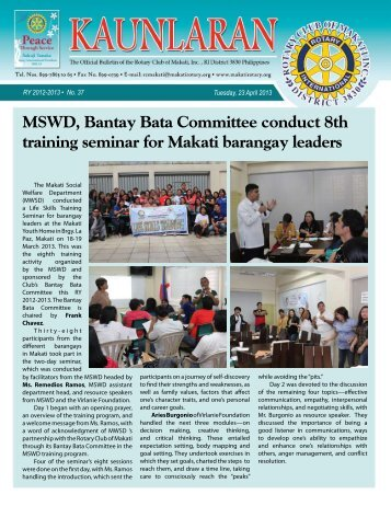 23 - Rotary Club of Makati