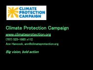 Climate Protection Campaign - Sonoma Land Trust
