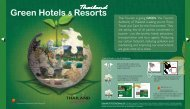 Green Hotels & Resorts - 7greens - Tourism Authority of Thailand