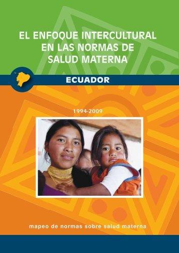 enfoque intercultural en el marco jurídico de la república del ecuador
