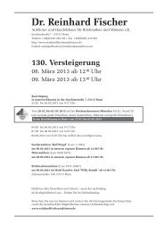 PDF des Auktionskatalogs der 130. Auktion anzeigen - Dr. Reinhard ...