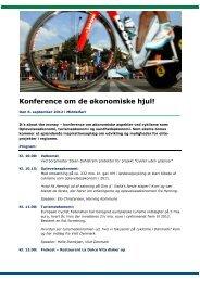 Konference om de økonomiske hjul! - Cykler uden grænser