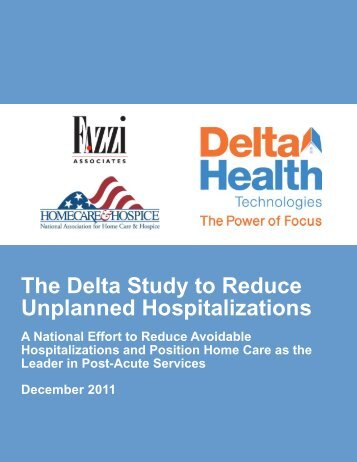 The Delta Study to Reduce Unplanned Hospitalizations