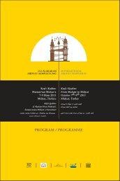 PROGRAM / PROGRAMME - Uluslararası Midyat Sempozyumu