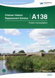 Chelmer Viaduct Replacement Scheme A138 - Highways Agency