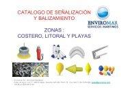 catalogo de señalización y balizamiento zonas : costero ... - Enviromar