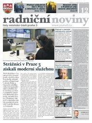 Radniční noviny - prosinec 2012 - Praha 3