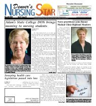 Adam's State College DON brings meaning to nursing students