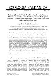 Toxicity of Essential Oils Isolated from Achillea millefolium L ...