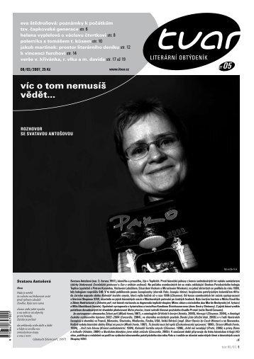 Tvar 5/2007
