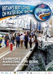 Exhibitor's markEting & Pr guidE - Southampton Boat Show