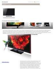 Samsung UE-55B7000 - LED Fernseher im Test