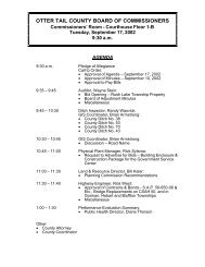 Agenda 09/17/2002 - Otter Tail County