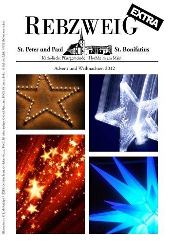 Advent und Weihnachten 2012 - Kath-hochheim.de
