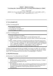 AltholzV - Altholzverordnung Verordnung über Anforderungen an ...
