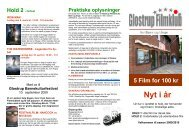 Glostrup filmklub 2009-2010.pub - Glostrup Bio