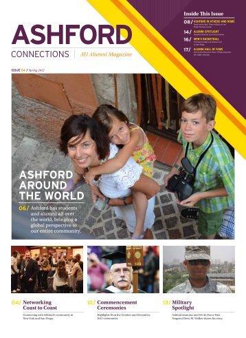 ASHFORD AROUND THE WORLD / AU Alumni ... - Ashford University