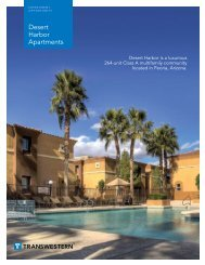 Desert Harbor Apartments - Transwestern