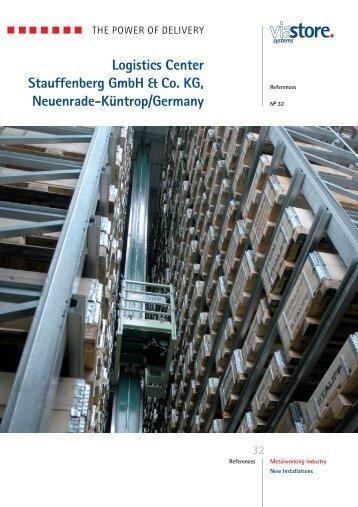Logistics Center Stauffenberg GmbH & Co. KG ... - viastore