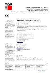 Kerámia csemperagasztó - TNyLokok - Baumit