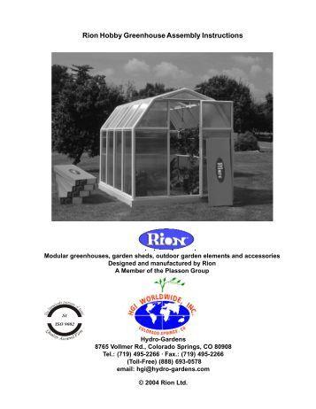 Greenhouse Info 09 Hydro Gardens