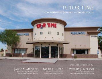 Tutor Time Glendale AZ - Marketing Package - Net Leased ...