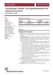 Vorarlberger Landes- und Hypothekenbank AG