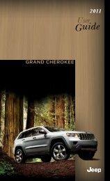 2011 Jeep Grand Cherokee User Guide