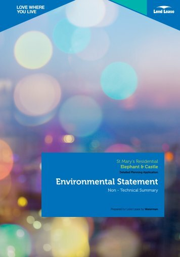 Environmental Statement - Southwark Council Planning Pages