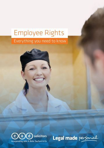 eeoa and employee rights Equal employment opportunity  provides eeo, diversity and inclusion, and civil rights/civil liberties services to almost 60,000 cbp employees and to the hundreds.