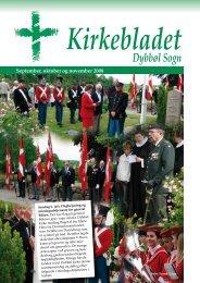 Kirkebladet september 2008 - Dybbøl Kirke
