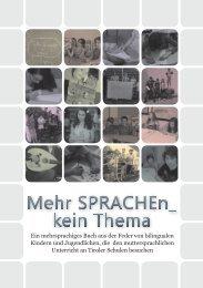 MehrSPRACHEn_kein Thema - Schule mehrsprachig