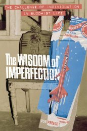 The Wisdom of Imperfection: The Challenge of Individuation in ...