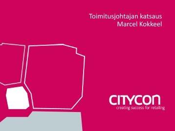 Toimitusjohtajan katsaus (pdf.) - Citycon
