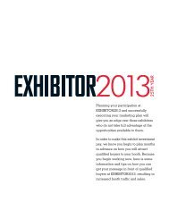Promotional Checklist - Exhibitor Magazine