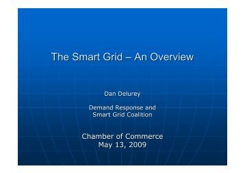 The Smart Grid – An Overview - US Chamber of Commerce