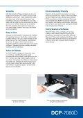 DCP-7060D - Printer Supermarket - Page 3