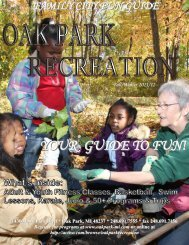 Oak Park Recreation - The City of Oak Park, Michigan