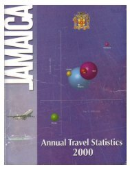 Annual Travel Statistics 2000.pdf - Jamaica Tourist Board