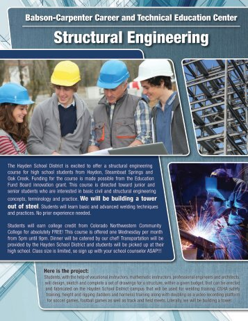 Structural Engineering - Steamboat Education Fund