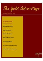 FINAL NEWSLETTER - Gold Financial Pty Ltd