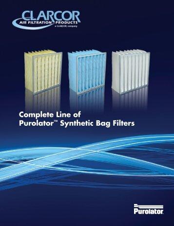 Sales Brochure - Purolator Air Filtration