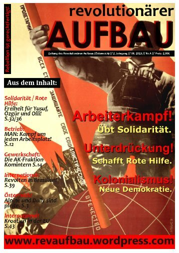 Download Link - Revolutionärer Aufbau - WordPress.com