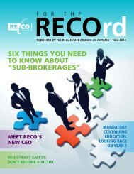 For the RECOrd Fall 2014-FINAL