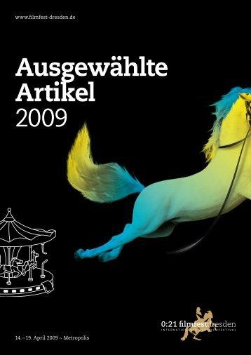 Ausgewählte Artikel 2009 - Filmfest Dresden