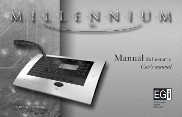 Manualdel usuario User's manual - Scandinavian Technology AS