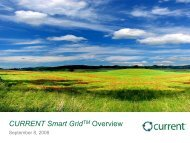 CURRENT Smart Grid Overview - IESO