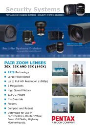PAIR - Security Systems - Pentax