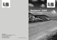 2012 Sundance - E400 - Swift Group